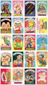 Farsi Garbage Pail Kids Sheet 3