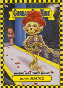 Flashback Card 76a - Bony Joanie Where are They Now