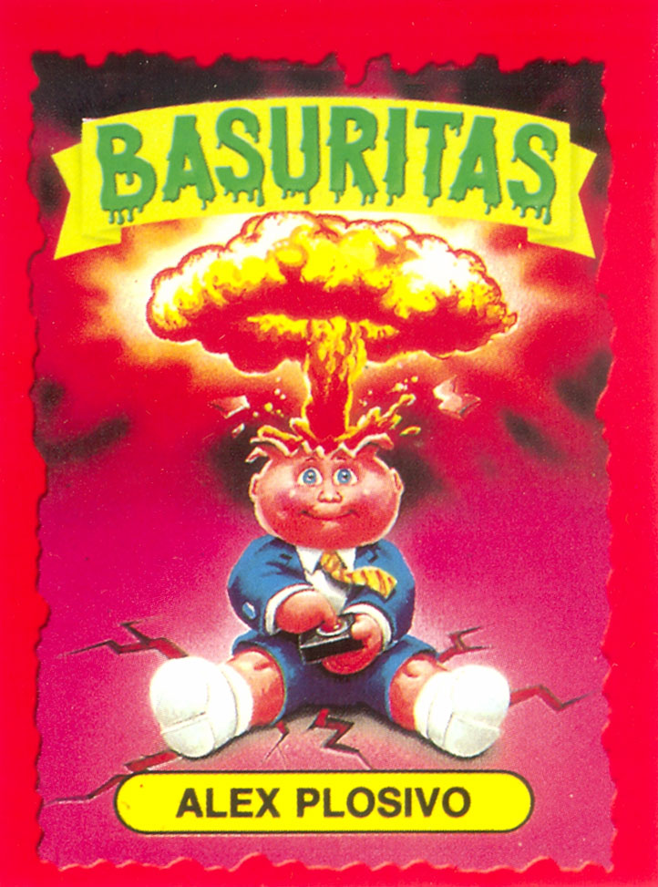 Argentina Basuritas and Monsters Adam Bomb
