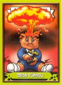 Brazil ANS Gang Do Lixo Adam Bomb Garbage Pail Kids Card