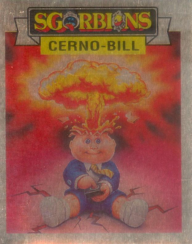 Italy Metallic Sgorbions Adam Bomb Card