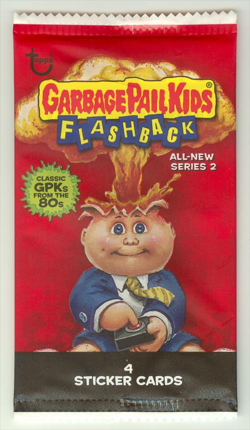Dollar Store 4 card Garbage Pail Kids Flashback 2 Pack Front