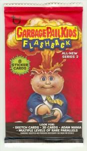Retail 8 Card Garbage Pail Kids Flashback 2 Pack Front