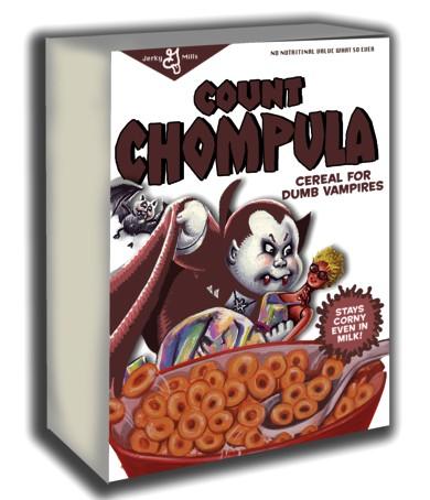 Garbage Pail Kids Cereal Box Mock Up