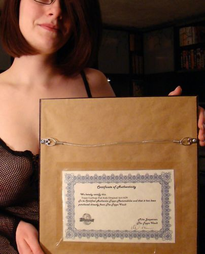 GPK Final Art Certificate of Authenticity